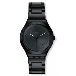 Reloj Swatch Hombre Irony Big Classic Noir Intense YWB404G