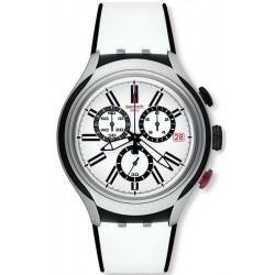 Reloj Swatch Hombre Irony Xlite Black Wheel Cronógrafo YYS4005