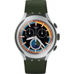 Reloj Swatch Hombre Irony Xlite Moss Cronógrafo YYS4009