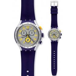 Reloj Swatch Hombre Irony Xlite Yellow Pusher Cronógrafo YYS4014