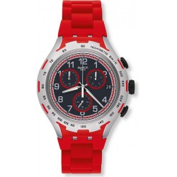 Reloj Swatch Hombre Irony Xlite Red Attack YYS4018AG Cronógrafo