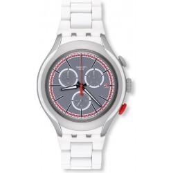 Reloj Swatch Hombre Irony Xlite White Attack YYS4019AG Cronógrafo