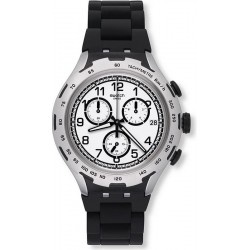 Reloj Swatch Hombre Irony Xlite Black Attack YYS4020AG Cronógrafo