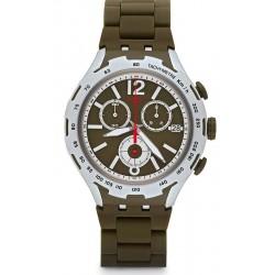 Reloj Swatch Hombre Irony Xlite Green Attack Cronógrafo YYS4022AG