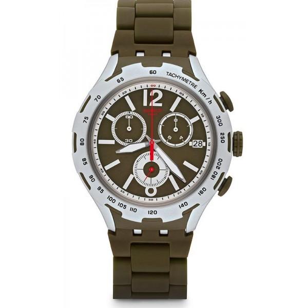 Comprar Reloj Swatch Hombre Irony Xlite Green Attack YYS4022AG Cronógrafo