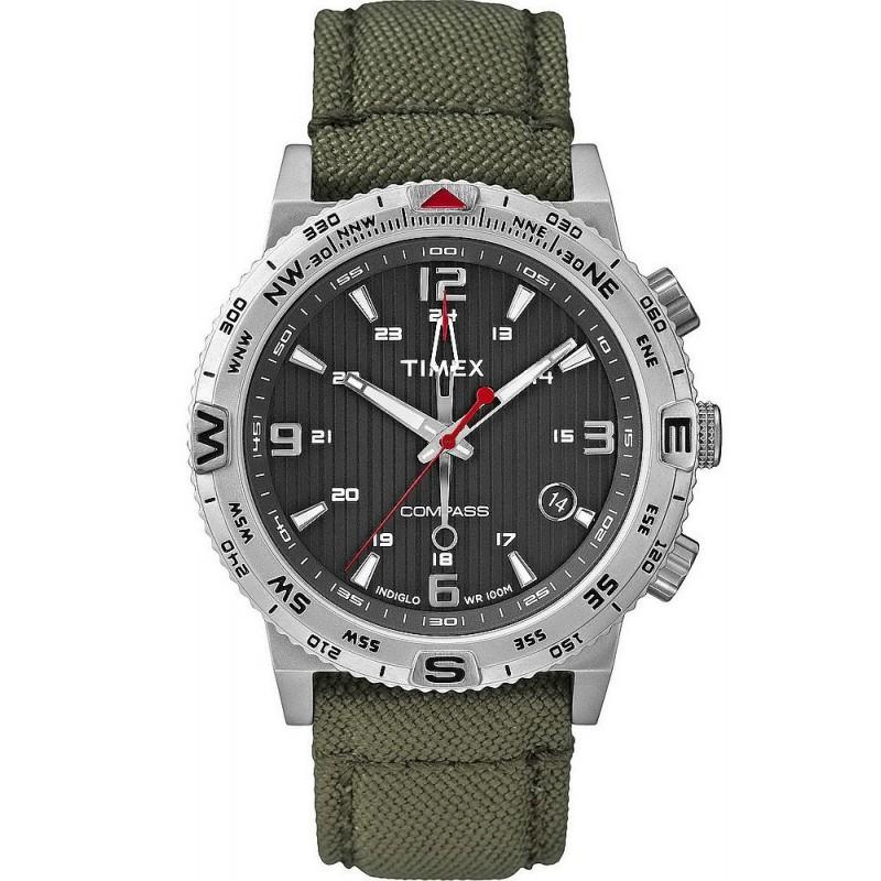 1d60ee10e762 Reloj Timex Hombre Intelligent Quartz Compass T2P286 - Joyería de Moda