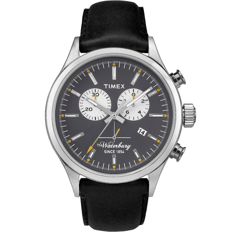 ca4f06fc7204 Reloj Timex Hombre The Waterbury Chronograph Quartz TW2P75500 ...