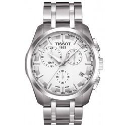 Reloj Hombre Tissot T-Classic Couturier GMT T0354391103100 Cronógrafo