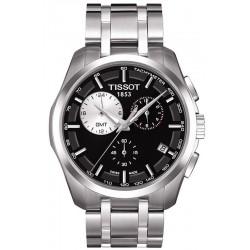Reloj Hombre Tissot T-Classic Couturier GMT T0354391105100 Cronógrafo