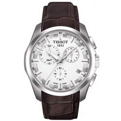 Reloj Hombre Tissot T-Classic Couturier GMT T0354391603100 Cronógrafo