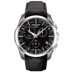 Reloj Hombre Tissot T-Classic Couturier GMT T0354391605100 Cronógrafo