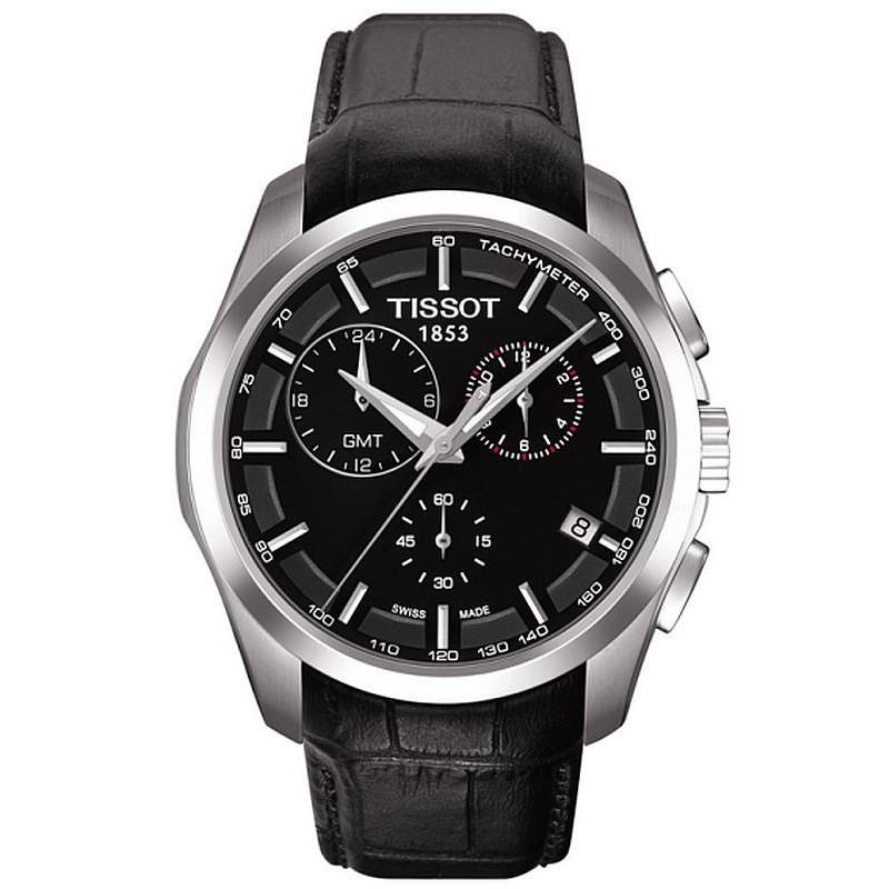 d915362c3e70 Reloj Hombre Tissot T-Classic Couturier GMT T0354391605100 Cronógrafo
