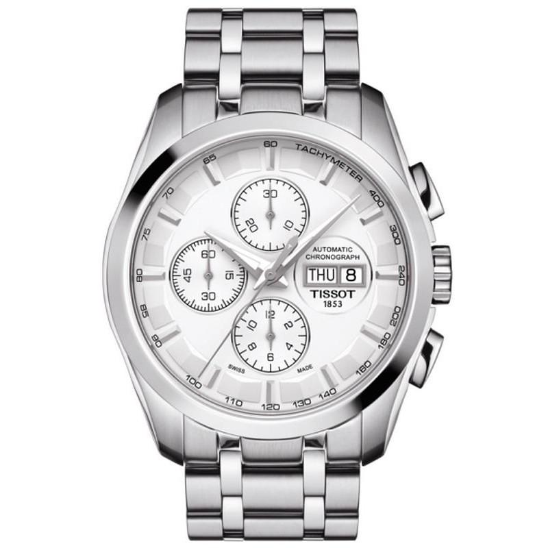847d0863177d Reloj Hombre Tissot Couturier Automatic Chronograph T0356141103100 ...