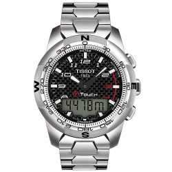 Reloj Hombre Tissot T-Touch II Titanium T0474204420700