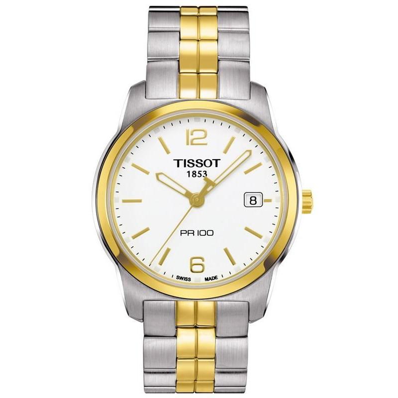 a4689adabeb Reloj Hombre Tissot T-Classic PR 100 Quartz T0494102201700 - Joyería ...