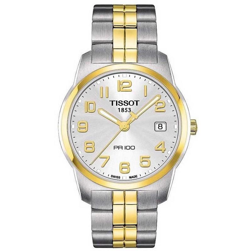 cd3bc4caa2f Reloj Hombre Tissot T-Classic PR 100 Quartz T0494102203201 - Joyería ...