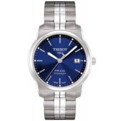 Reloj Hombre Tissot T-Classic PR 100 Quartz Titanium T0494104404100