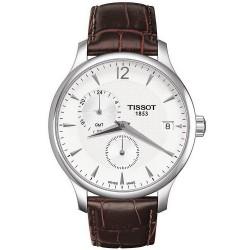 Reloj Hombre Tissot T-Classic Tradition GMT Quartz T0636391603700