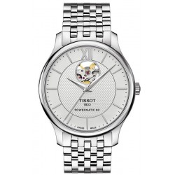 Reloj Hombre Tissot Tradition Powermatic 80 Open Heart T0639071103800