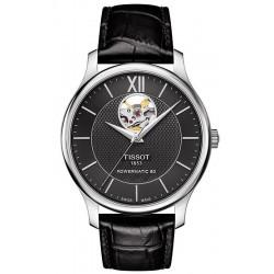Reloj Hombre Tissot Tradition Powermatic 80 Open Heart T0639071605800