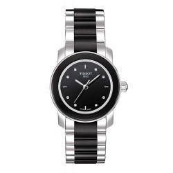 Reloj Mujer Tissot T-Lady Cera T0642102205600 Quartz