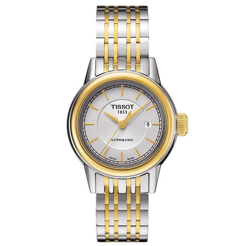 5341a034403 Reloj Mujer Tissot T-Classic Carson Automatic T0852072201100 ...