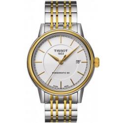 Reloj Hombre Tissot T-Classic Carson Powermatic 80 T0854072201100