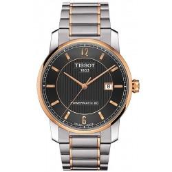 Reloj Hombre Tissot T-Classic Powermatic 80 Titanium T0874075506700
