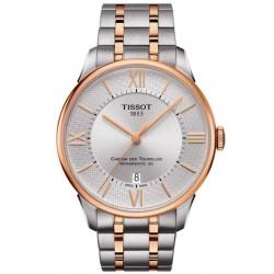 Comprar Reloj Hombre Tissot Chemin Des Tourelles Powermatic 80 Helvetic Pride T0994072203801