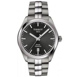 Reloj Hombre Tissot T-Classic PR 100 Titanium Quartz T1014104406100