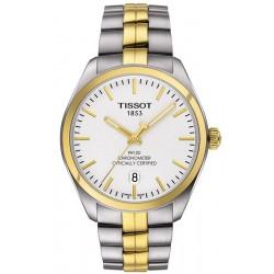 Reloj Hombre Tissot T-Classic PR 100 COSC Quartz T1014512203100