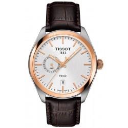 Reloj Hombre Tissot T-Classic PR 100 Dual Time T1014522603100